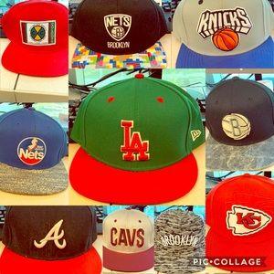 Hats NBA MLB NFL BUNDLE PRICE